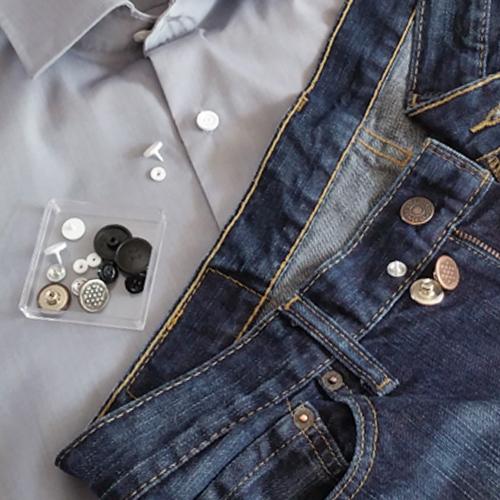 Bouton pression sans couture - Changer boutons facilement sans coudre