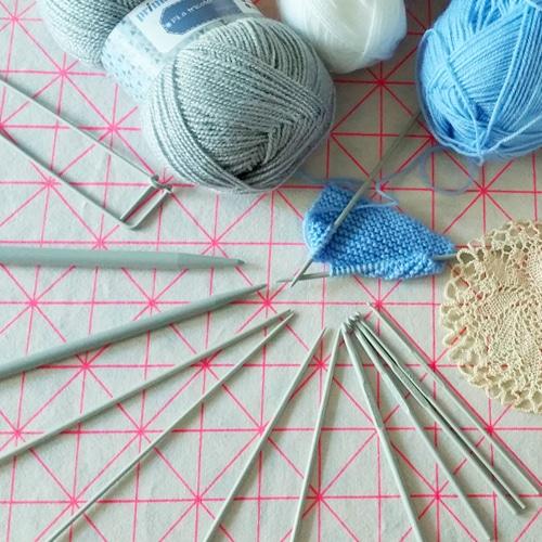 Aiguilles à tricoter – Crochet de tricot – Double pointes tricot