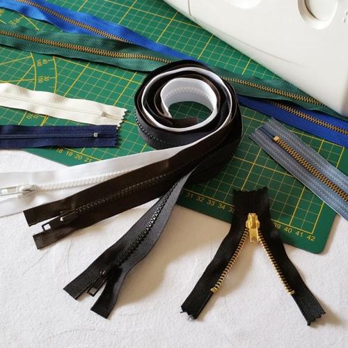 Fermeture à glissière – Zipper vêtement – Zip couture personnalisée