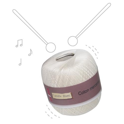 Fil de coton pour crochet – Coton à crocheter multicolore